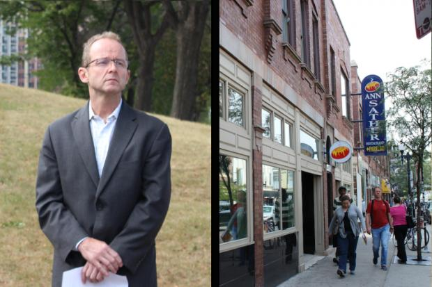 Ald. Tom Tunney (44th) has privately listed several prominent Belmont Avenue properties for sale.