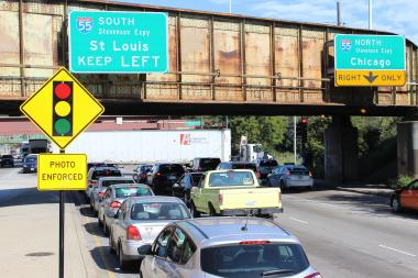 The Intersection Of Cicero Avenue And The Stevenson Expy. Has Been A Top  Earner For