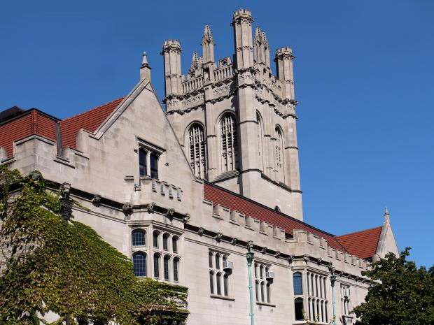 The University of Chicago ranks No. 3 in the U.S. News and World Report university rankings.