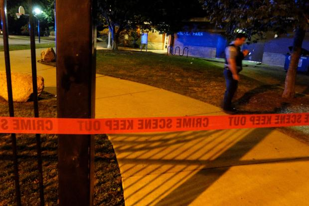 Two men were shot in Wicker Park at 11:34 p.m. Friday. Both are in stable condition, according to police.