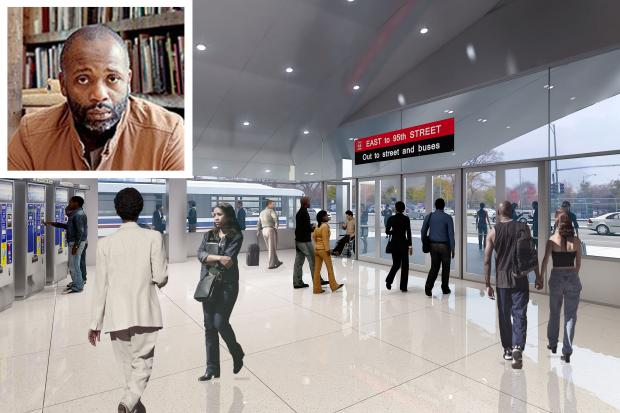 The CTA is enlisting the help of Chicago-based artist Theaster Gates to design artwork for its planned $240 million terminal at the 95th and Dan Ryan Red Line station.