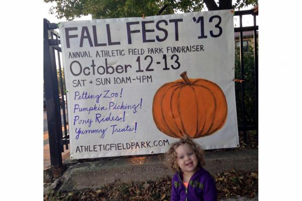 Athletic Field Park will host its annual two-day Fall Fest this weekend. Humboldt Park will also host a pumpkin patch event for families.