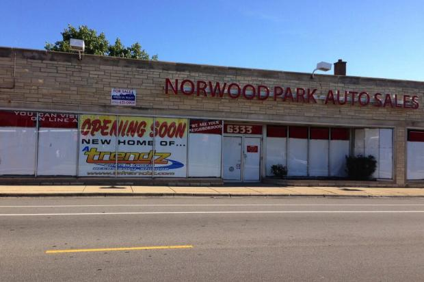 The corner of Northwest Highway and Harlem Avenue was home to a car dealer for nearly 65 years.