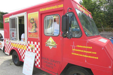 Babycakes is one of a rotating lineup of food trucks taking part in the Ravenswood ArtWalk Detour.