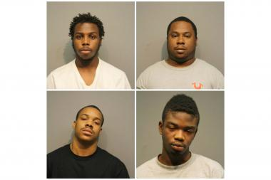 Clockwise (from top l.) Deonta Brown, Marcus Johnson, Rashee Herron and Michael Jackson.