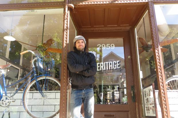 Chaz Tiede is the owner of Matador Mobile Sharpening, a bike-friendly knife-sharpening service.
