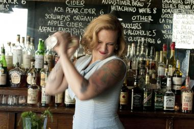 Bartender Annemarie Sagoi of The Dawson is among the 20 bartenders competing in the Reader's Fall Cocktail Challenge.