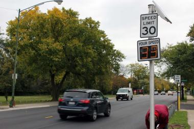 Watch out for speed cameras on Irving Park Road, along the southern edge of Horner Park.