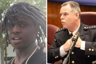 Police Supt. Garry McCarthy said rapper Chief Keef is an example of how difficult it is to rein in juvenile crime.