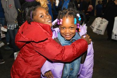 The Chicago Housing Authority plans to give away 10,000 winter coats to poor children at its Sixth Annual Operation Warm event on Saturday, Nov. 2, 2013.
