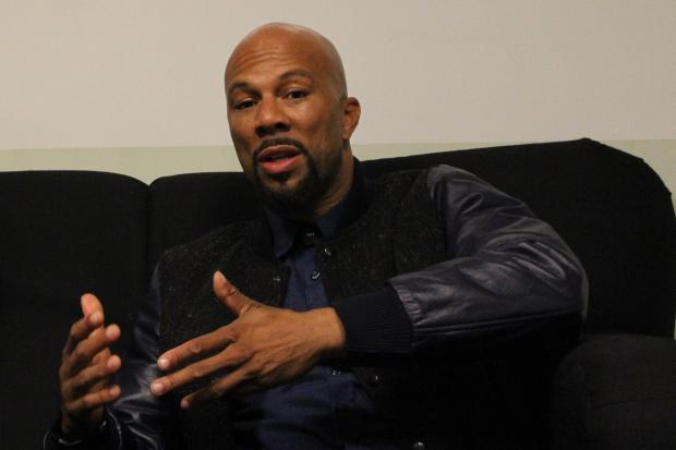 Common was in Chicago Tuesday for a photography event, where he discussed the local music scene and the violence that has ended the lives of some young rappers.