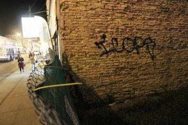 "A prolific tagger has been spray-painting ""ICOPS"" on the North Side, especially along Devon Avenue, police said."