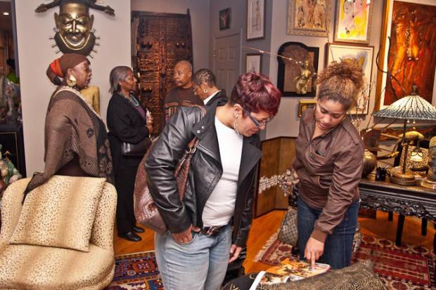 The 2013 home tour series will focus on South Shore collectors of African-American art.