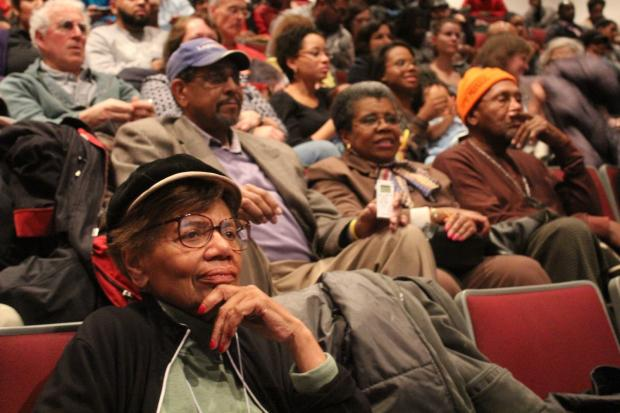 Former and current education activists gathered at the DuSable Museum of African American History to see a documentary on the 1963 school boycotts.