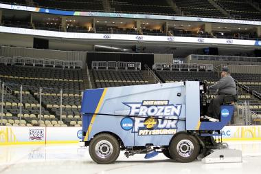 "While the 2013 NCAA Division I men's ice hockey championship, or the ""Frozen Four,"" took place in Pittsburgh, it could be held at the United Center in 2015, 2017 or 2018."