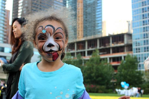 GEMS World Academy, a new school coming to Lakeshore East, hosted a free festival for the community Friday.
