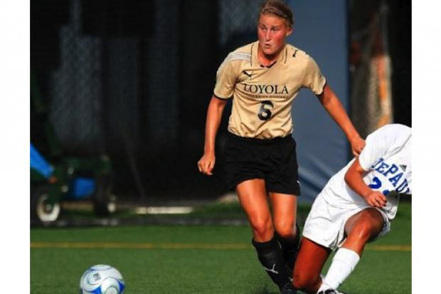 Former Loyola University Chicago soccer player Allie Roufus was able to alleviate damage thanks to an Andersonville clinic.
