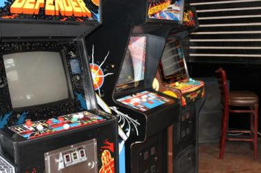 Headquarters Beercade is giving away one of its vintage arcade games for its anniversary party.