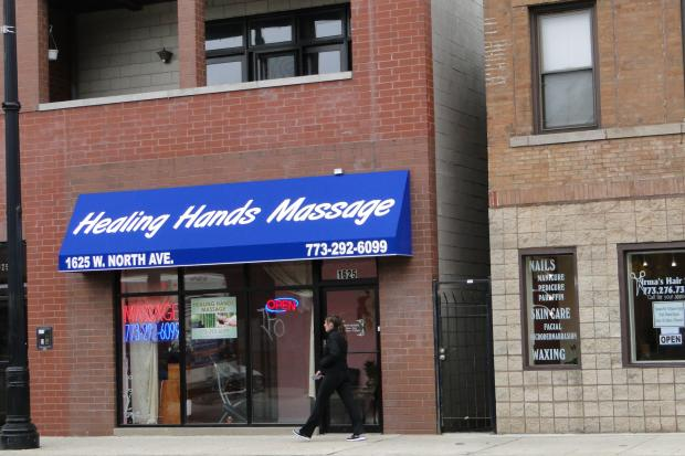 Healing Hands Massage is now open at 1625 W. North Ave. in Wicker Park.