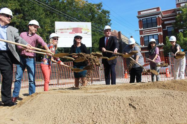 The new health center on Devon Avenue will have solar panels and geothermal heating.