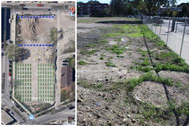 The Peterson Garden Project plans to install more than 130 garden beds on the vacant lot.