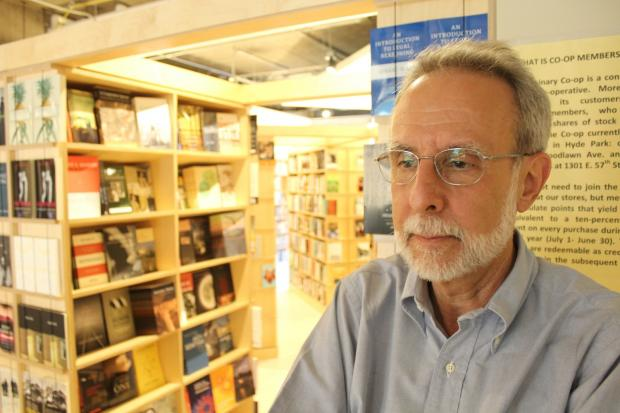 Jack Cella will retire soon after more than 40 years as manager of the Seminary Cooperative Bookstore.