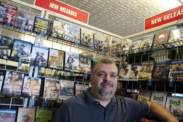 The video store has survived ups and downs, and the owner said it's here to stay.