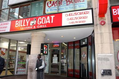The newest Downtown Billy Goat outpost will open soon, staff says.