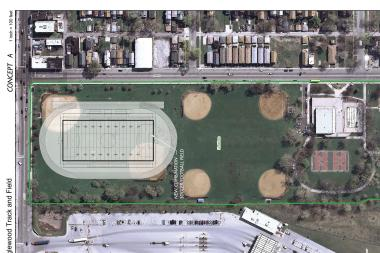Money for a new athletic field at Lindblom Park is expected to be approved at a City Council meeting on Wednesday, Oct. 16, 2013.