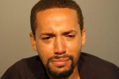 Police said Jimmie Ortiz was subdued by his would-be victim after a robbery attempt in Logan Sqaure Saturday.