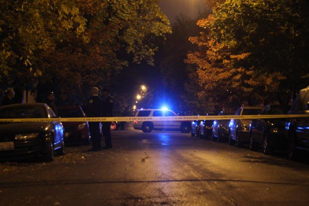 A 23-year-old man died after he was found shot in Logan Square Tuesday morning.