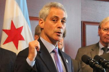Mayor Rahm Emanuel said red-light cameras had served their purpose and were no longer needed at 18 intersections.