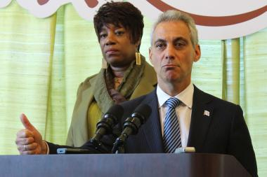 "Mayor Rahm Emanuel said, ""Any time the U.S. Congress gets involved, the works get gummed up."""