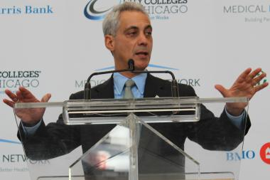 Mayor Rahm Emanuel says a proposed Vertiport in the Medical District is ready for takeoff in the City Council.