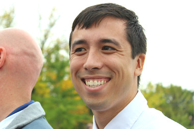Nate Manaen, the new principal at Ravenswood Elementary School.