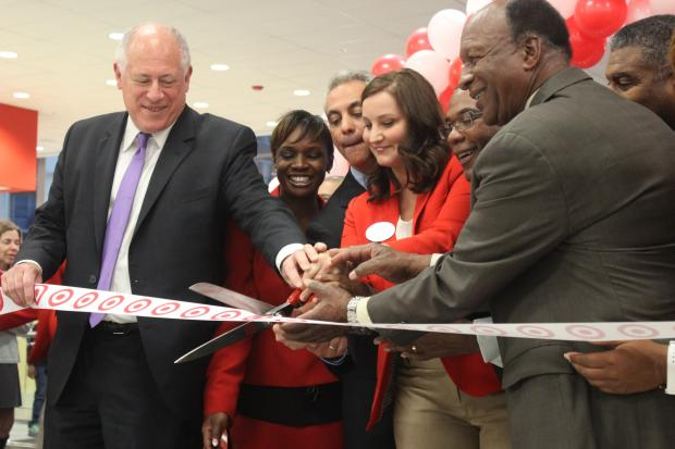 Grand Opening: 200 jobs created with the new Target store, lawmakers said, 75 for Cabrini-Green families