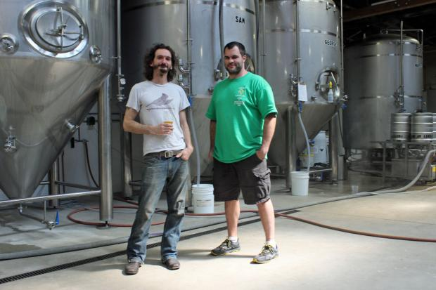 Dave Bleitner of Two Brothers and John Laffner of Goose Island launched Off Color Brewing this year.