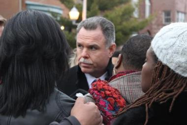 "Police Supt. Garry McCarthy spoke to Hadiya Pendleton's mother and family in January and said police ""will get this one done"" in reference to the young girl's slaying. Both he and Mayor Rahm Emanuel back a bill that enact three-year mandatory minimum sentences for aggravted unlawful use of a weapon charges."