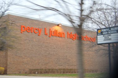 Percy Julian High School, 10330 S. Elizabeth St., in Washington Heights. File photo.