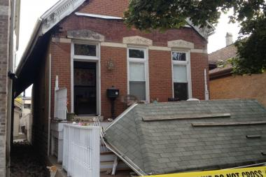"No one was injured in a porch collapse at a single-family Bridgeport home that fire officials say was ""well over 100 years old."""