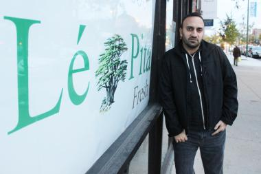 Owner Ramsen Sheeno plans to open Le Pita Fresh in CJ Grill's former location on North Broadway.