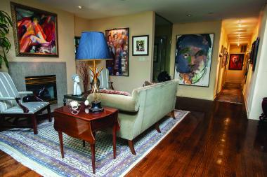 Robert Williams will open his house to art enthusiasts on Saturday. Here's a preview.