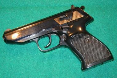 A new city ordinance would allow museums to display guns like this Walther PP, where they previously couldn't.