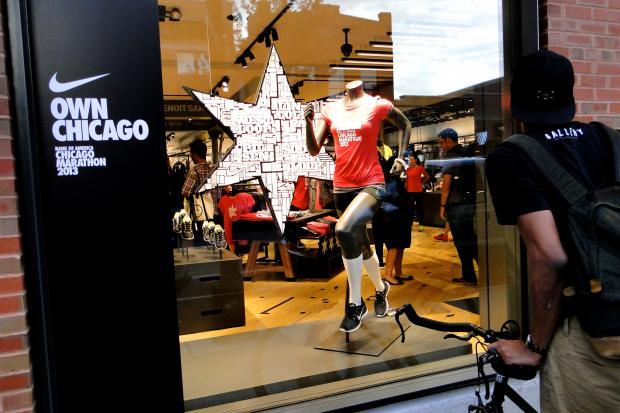 Nike opens a running concept store at 1640 N. Damen Ave. in Bucktown Friday.