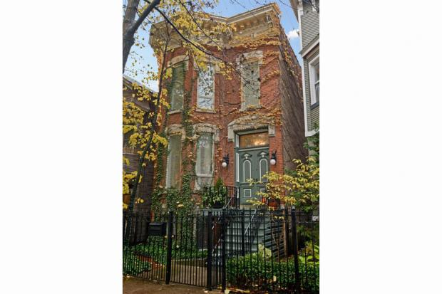 A three-bedroom Lincoln Park brownstone built in 1880 was listed for sale at $1.8 million on Nov. 14.