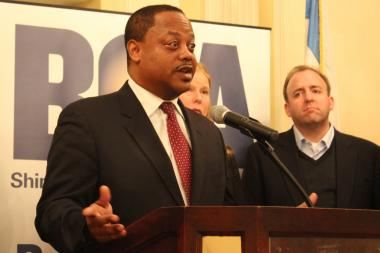 Ald. Roderick Sawyer introduced his Privatization Transparency and Accountability Ordinance a year ago Friday.