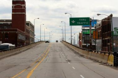 City officials say the Ashland Avenue ramp over Pershing Road will be demolished in favor of a reconfigured intersection.