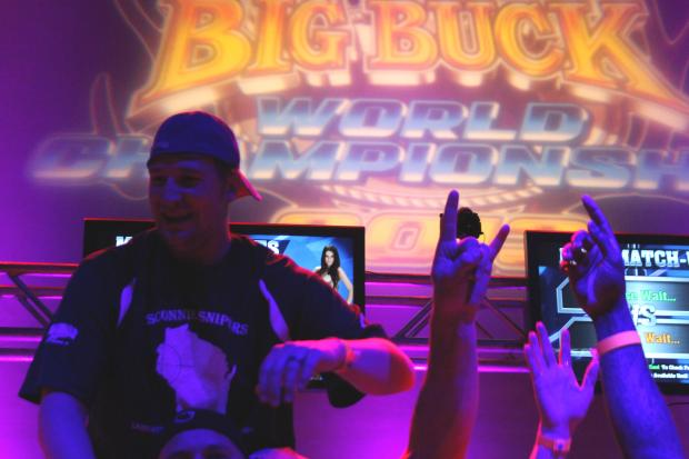 "The top Big Buck Hunter players from around the country and abroad headed to Wicker Park Friday and Saturday for the sixth annual World Championships. Trevor Gartner, of Wisconsn, took home the trophy — known as ""Pappy's Jug"" — and a $15,000 grand prize."