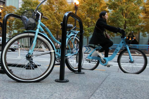 Divvy bikes are cruisers for practical reasons, designers say.