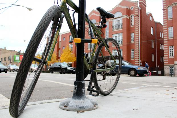 "Employees at Logan Square's Bike Lane Chicago say many of the parts and bikes being sold on the Facebook group ""Chicago Bike Sellers"" are stolen."